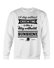 A DAY WITHOUT CROCHETING  Crewneck Sweatshirt thumbnail