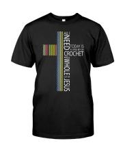 ALL-I-NEED-CROCHET-JESUS2 Classic T-Shirt thumbnail