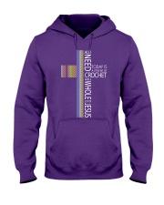 ALL-I-NEED-CROCHET-JESUS2 Hooded Sweatshirt thumbnail