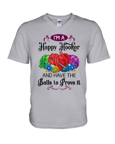 I'M A HAPPY HOOKER - CROCHET