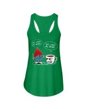 crochet-coffee Ladies Flowy Tank thumbnail