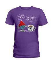 crochet-coffee Ladies T-Shirt thumbnail