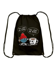 crochet-coffee Drawstring Bag thumbnail