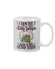 I Crochet So I Don't Choke People Mug thumbnail