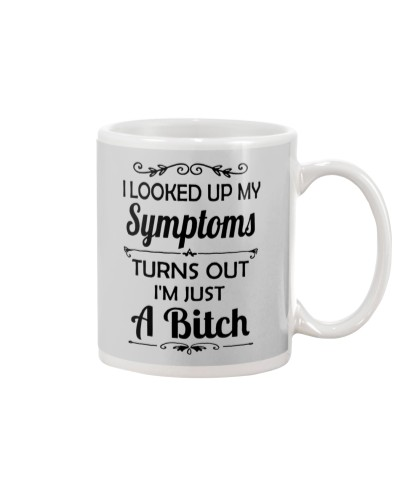 I LOOKED UP MY SYMPTOMS TURN OUT