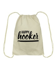 Happy Hooker Drawstring Bag thumbnail