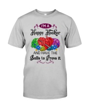 I'M A HAPPY HOOKER - CROCHET2 Classic T-Shirt tile