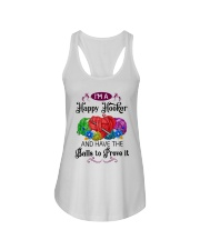 I'M A HAPPY HOOKER - CROCHET2 Ladies Flowy Tank tile