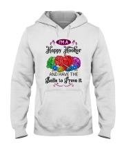 I'M A HAPPY HOOKER - CROCHET2 Hooded Sweatshirt thumbnail