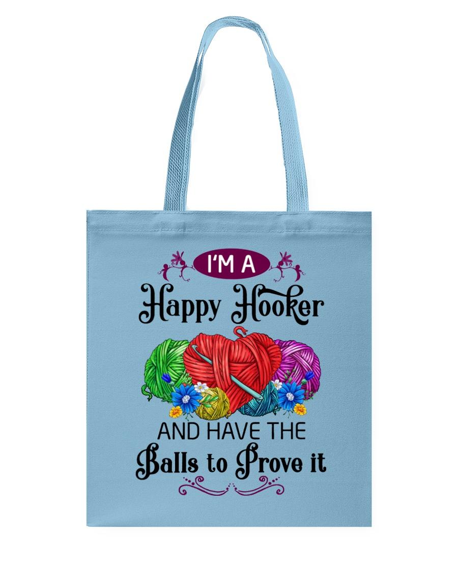 I'M A HAPPY HOOKER - CROCHET2 Tote Bag