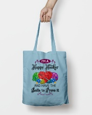 I'M A HAPPY HOOKER - CROCHET2 Tote Bag lifestyle-totebag-front-2
