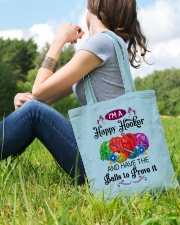 I'M A HAPPY HOOKER - CROCHET2 Tote Bag lifestyle-totebag-front-6