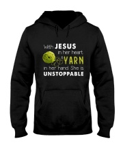 Jesus and Yarn Hooded Sweatshirt thumbnail