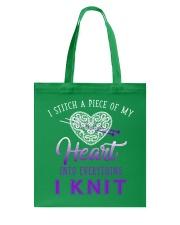 Heart And Knit Tote Bag thumbnail