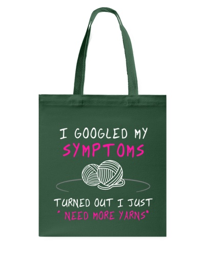 SYMPTOMS - NEED MORE YARNS