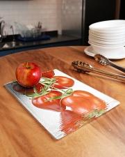 Tomato reflection chopping board Rectangle Cutting Board aos-cuttingboard-rectangular-lifestyle-01