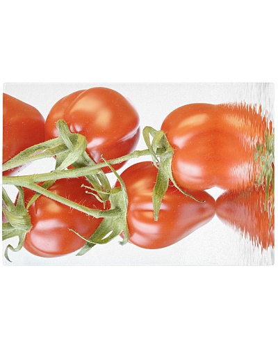 Tomato reflection chopping board