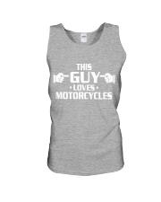 MOTORCYCLES shirts - biker shirts Unisex Tank thumbnail