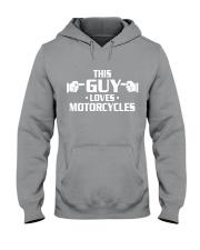 MOTORCYCLES shirts - biker shirts Hooded Sweatshirt thumbnail