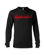 Gift Heart Beat For Guitar Funny T-shirt Long Sleeve Tee thumbnail