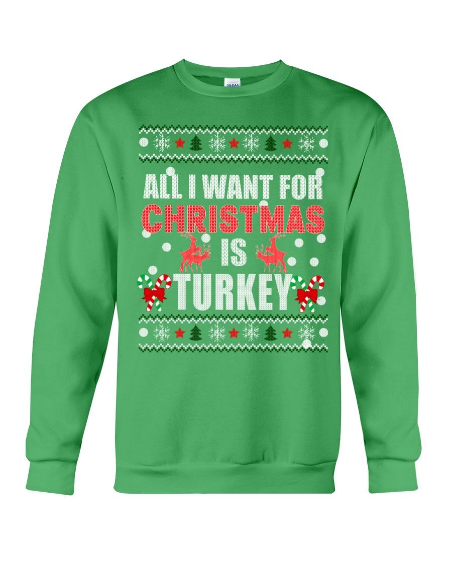 Turkey shirts - Christmas shirts - Xmas gift Crewneck Sweatshirt