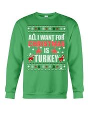 Turkey shirts - Christmas shirts - Xmas gift Crewneck Sweatshirt front