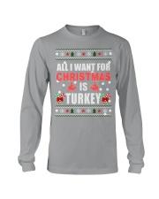 Turkey shirts - Christmas shirts - Xmas gift Long Sleeve Tee thumbnail