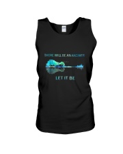There Will Be An Answer Let It Be Guitar Lake Shad Unisex Tank thumbnail