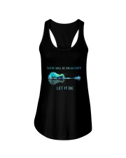 There Will Be An Answer Let It Be Guitar Lake Shad Ladies Flowy Tank thumbnail