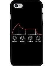 Mens Adsr Envelope Analog Synthesizer T Shirt Medi Phone Case thumbnail