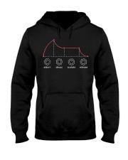 Mens Adsr Envelope Analog Synthesizer T Shirt Medi Hooded Sweatshirt thumbnail