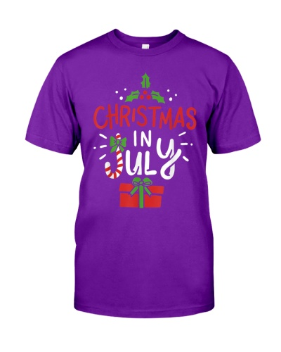 Christmas In July Beach Summer Hawaiian TShirt