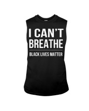 I Cant Breathe Black Lives Matter TShirt Sleeveless Tee thumbnail