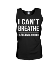 I Cant Breathe Black Lives Matter TShirt Unisex Tank thumbnail