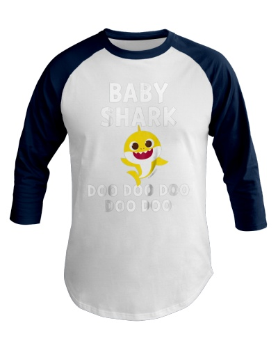 Kids Pinkfong Baby Shark Official Tshirt