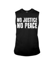 No Justice No Peace  Black Lives Matter TShirt Sleeveless Tee thumbnail