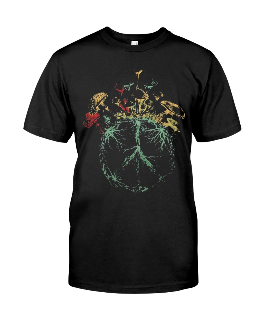 MUSHROOM-HIPPIE Classic T-Shirt