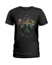 MUSHROOM-HIPPIE Ladies T-Shirt thumbnail