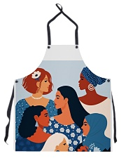 Beauty From Different Nationality Apron tile