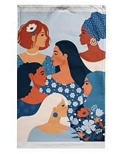 Beauty From Different Nationality Tea Towel thumbnail