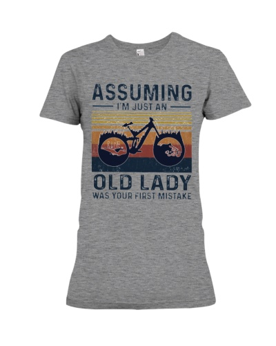 Biking mountain women3 - Limited Edition