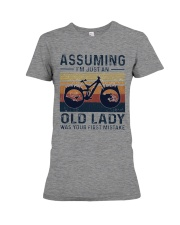 Biking mountain women3 - Limited Edition Premium Fit Ladies Tee front