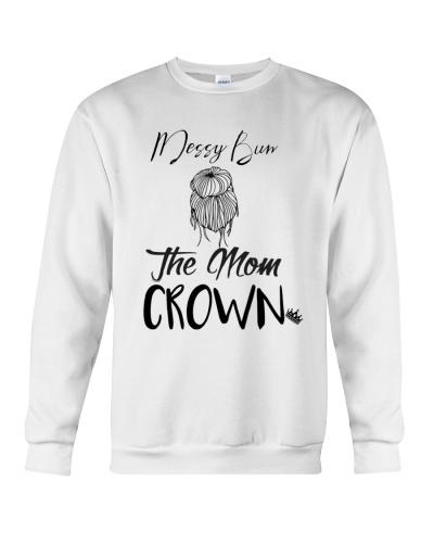 MESSY BUN THE MOM CROWN