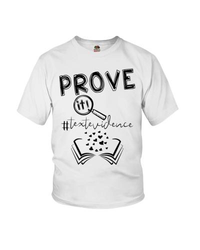 PROVE IT TEXTEVIDENCE