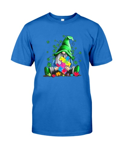 Autism Awareness Gnomes Shamrock St Patricks Day