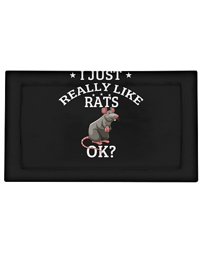 I Just Really Like Rats OK Cute Rat Lovers