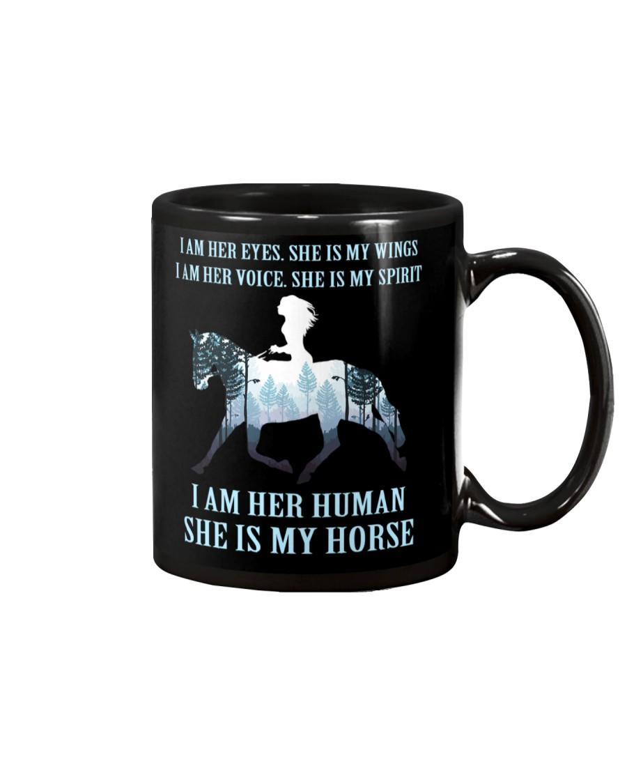 I Am Her Human She Is My Horse Mug