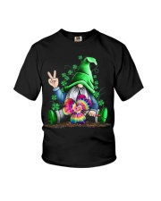 Hippie Gnome happy St Patrick day Youth T-Shirt thumbnail