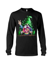Hippie Gnome happy St Patrick day Long Sleeve Tee thumbnail