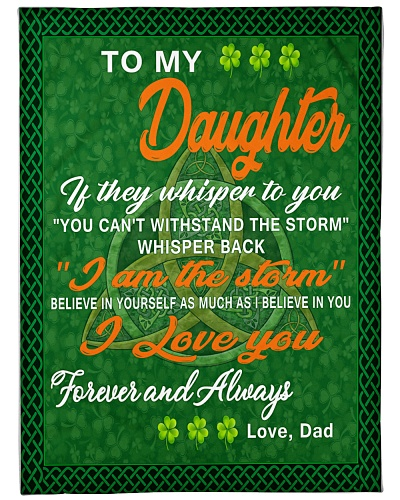 Irish i love you- my daughter gift of dad